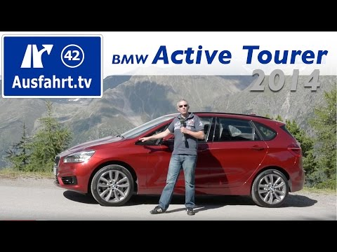 2014 BMW 218d Active Tourer - Fahrbericht der Probefahrt -Test - Review (Deutsch / German)