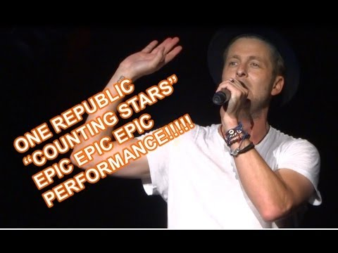 EPIC HD Performance! One Republic Counting Stars Live Video in Concert in Mountain View, CA