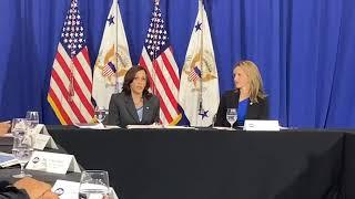 Kamala Harris Talks Voting Rights in Michigan
