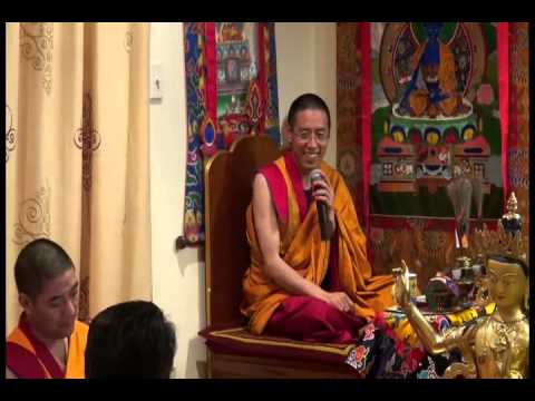 Rigzin Rinpoche - Consecration of Three Buddha Statues 26-27/10/2013