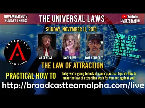 11-11-2018 S01E12 Law Of Attraction - Practical HowTo