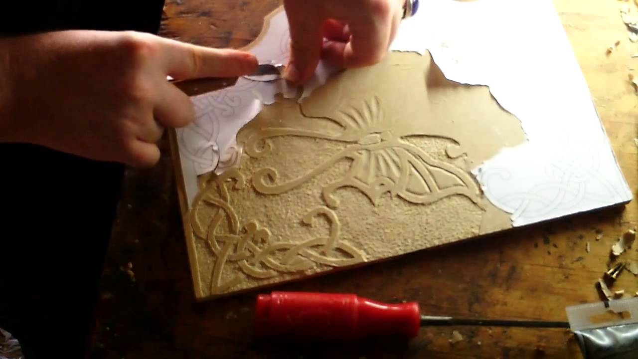 Introduction to Relief Carving Wood/MDF - YouTube