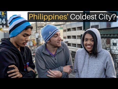 Philippines' Coldest City? WELCOME TO BAGUIO
