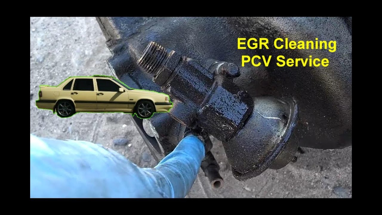 hight resolution of egr valve cleaning volvo 850 1993 1994 and 1995 votd