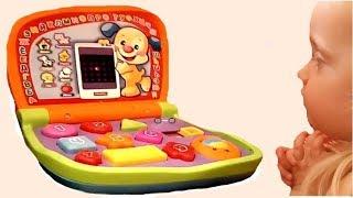 ✅Обзор новой игрушки????интерактивный развивающий детский компьютер
