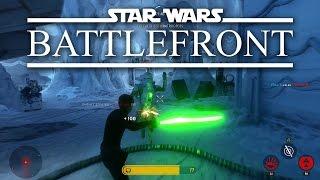 "Star Wars: Battlefront ""HERO HUNT"" Multiplayer Gameplay"