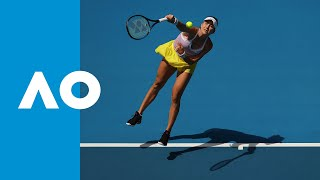 Belinda Bencic vs. Anna Karolina Schmiedlova - Match Highlights (1R) | Australian Open 2020