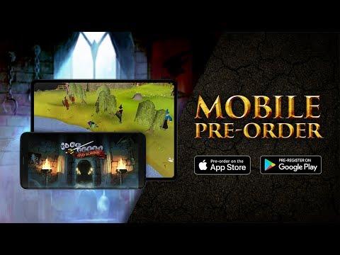 OSRS Mobile - Pre-register now!