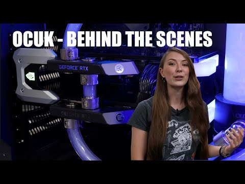 Overclockers UK - How They BUILD Their Systems - BRIONY Behind The Scenes!