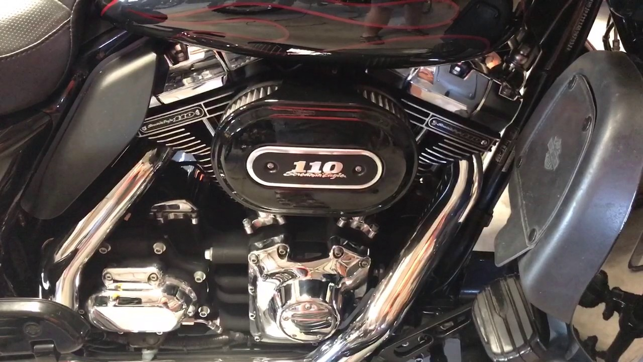 Harley 110 engine after new lifters, cam bearings, rocker lockers