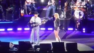 George Strait & Miranda Lambert - Run (Dallas 06.07.14) HD