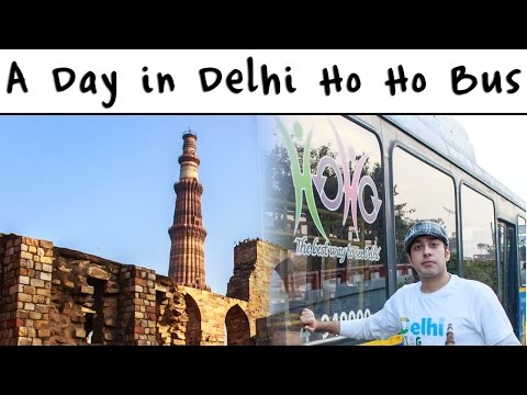 one day trip in delhi tourism ho ho bus