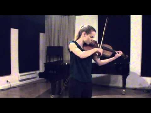 Capriccio, solo viola, Henri Vieuxtemps