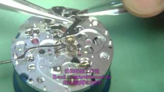 Chiao-Watches ETA 2894-2 movement assembly