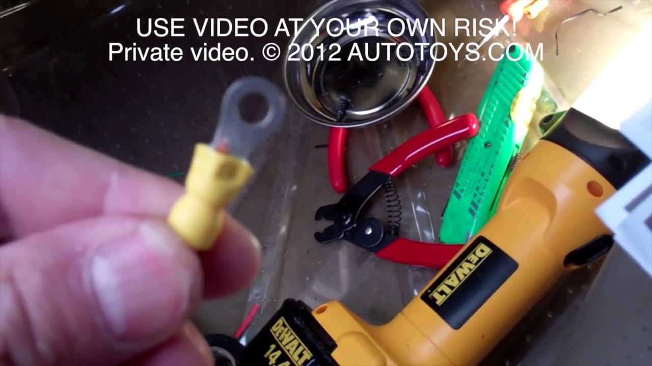 Toyota Rav4 Uncut Remote Start Installation Youtube Starter Diagram