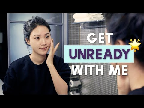 🍂FALL Get Unready With Me 🌙Simple & Sweet! Ft. My Holy Grail K-Beauty Products From Sephora