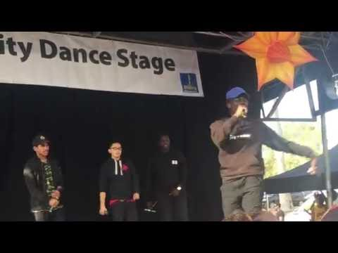 live rap free style- south Sudan crew performing at refugee day Brisbane Australia part 3 (2016)