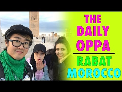A DAY IN MOROCCO WITH YOUTUBER KIM MISO | The Daily Oppa