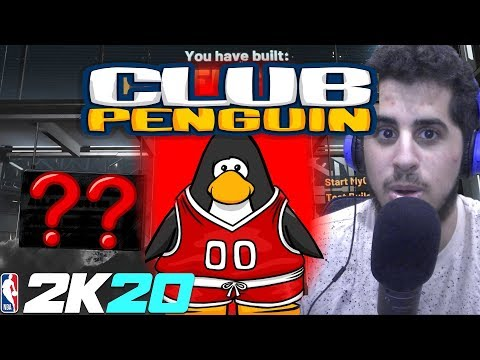 The Club Penguin NBA 2K20 Park Build