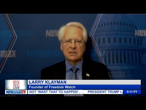 America Talks Live - Larry Klayman discusses his piece on Obama