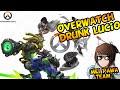 Overwatch - Drunk Lucio ( Dodon Potarino Des ) Brawl