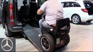 Mercedes Rollstuhl Fahrhilfen MobiTec Fahrzeugumbau