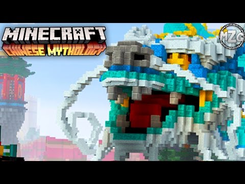 Chinese Mythology Mash-Up Pack! - Minecraft PS4 Gameplay