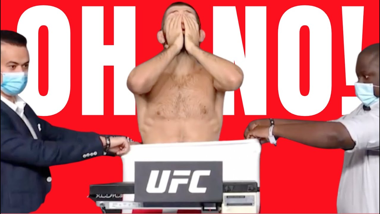 Download KHABIB MISSED WEIGHT!!!  UFC 254 Weigh In Drama!!!!  Watch This FULL VIDEO! Crazy!!!!!