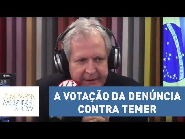 """Augusto Nunes: """"Não precisa ser Profeta para saber o que ia acontecer na Câmara""""   Morning Show"""