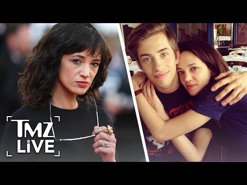 Asia Argento Says Anthony Bourdain Paid Accuser! | TMZ Live