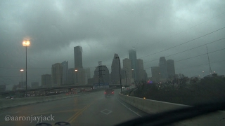 Houston Valentines Day Tornado Warned Storms and Damage 02-14-2017
