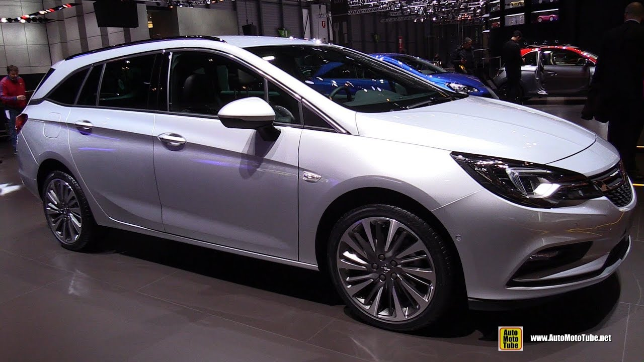 2017 Opel Astra Wagon Diesel - Exterior and Interior ...