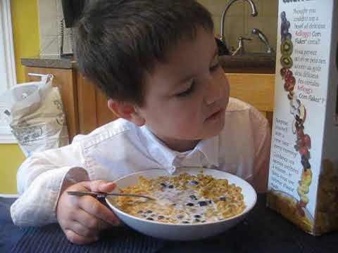 Cereal Box Reading