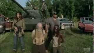 The Walking Dead | The Governor's Last Battle Part 1