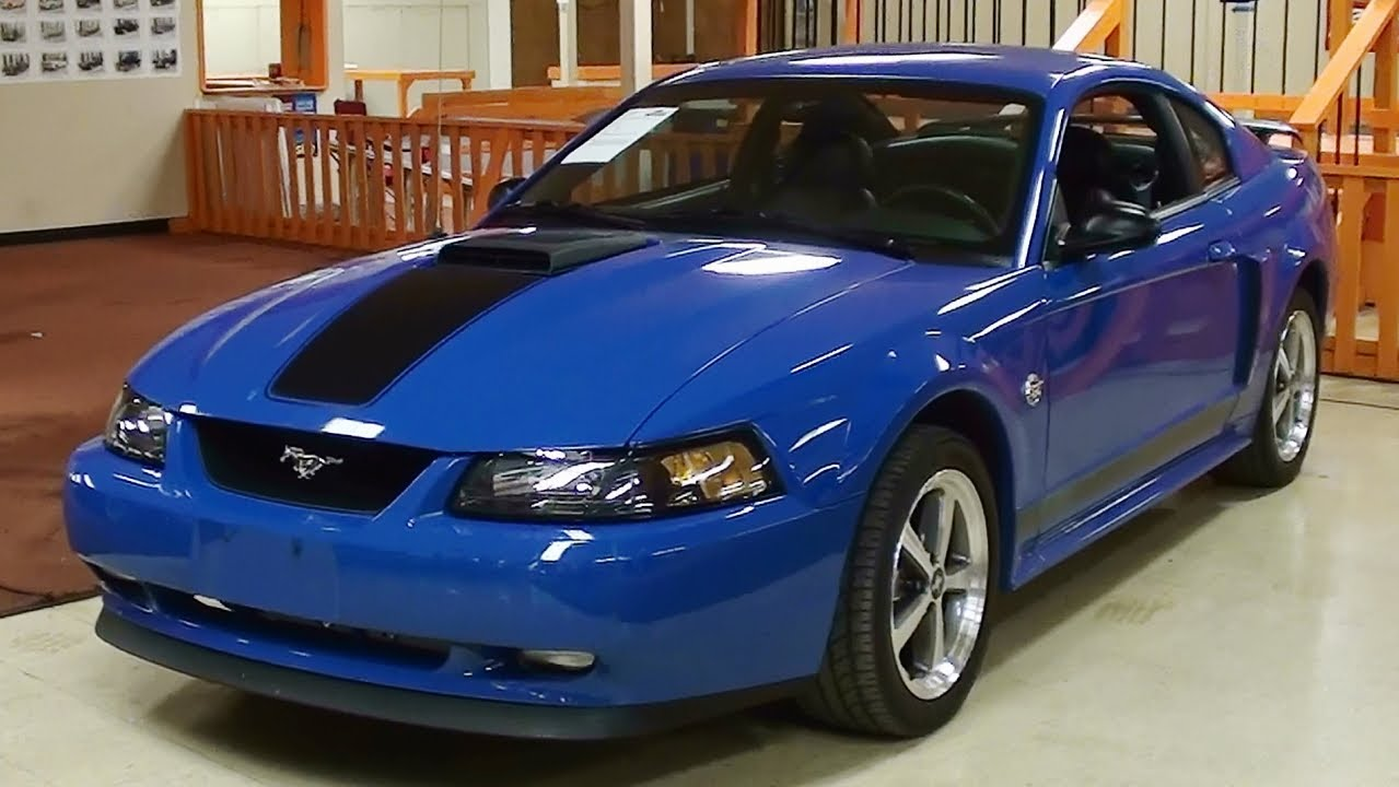 2004 ford mustang mach 1 4 6 liter dohc v8 40th anniversary youtube