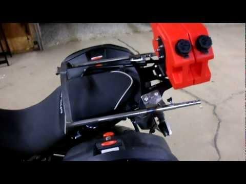 Kawasaki Versys Sliding Backrest