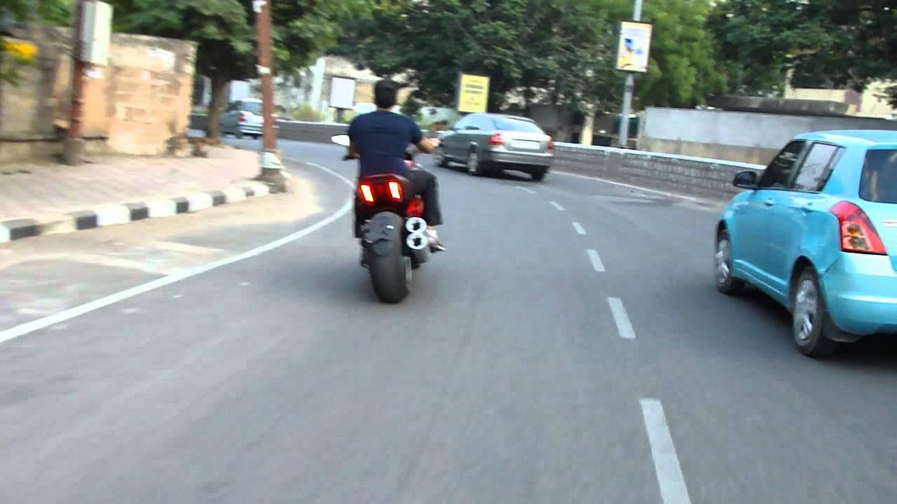 Ducati Diavel In Hyderabad India Youtube