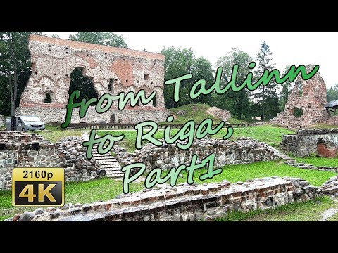 From Tallinn to Riga, Part1 - Estonia 4K Travel Channel