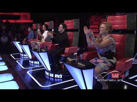 Arman Minasyan,Historia De Un Amor -- The Voice Of Armenia – The Blind Auditions – Season 3