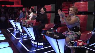 Arman Minasyan,Historia De Un Amor -- The Voice of Armenia – The Blind Auditions – Season 3