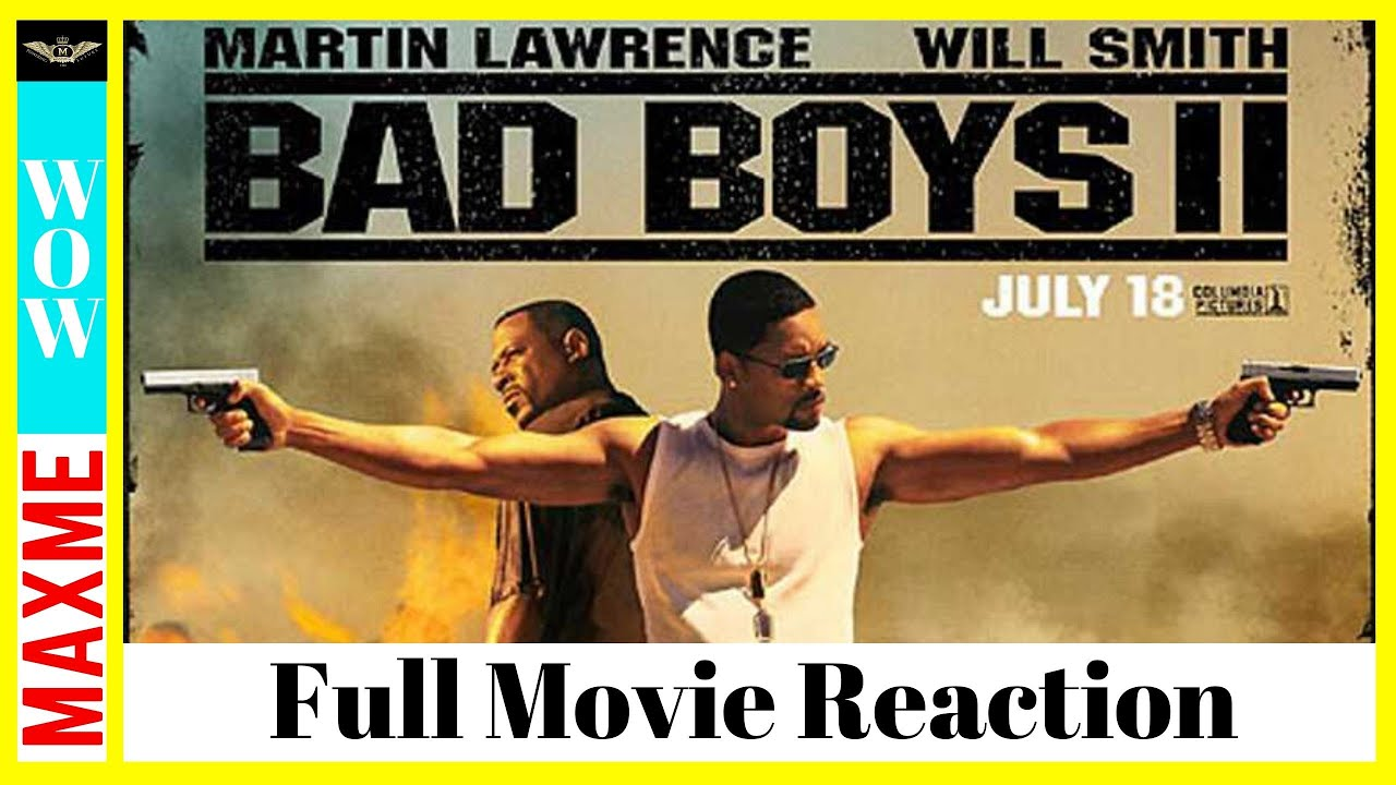 Download BAD BOYS 2 Full Movie REACTION!!!