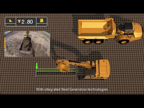 Next Generation Cat® Excavator With Advanced Technologies That Makes It 45% More Efficient