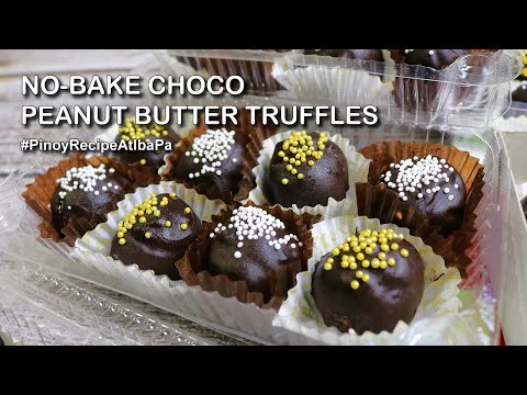 Chocolate Peanut Butter Balls With Rice Krispies | Negosyo Recipe