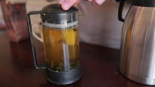 How to Use a Tea Press : Teas