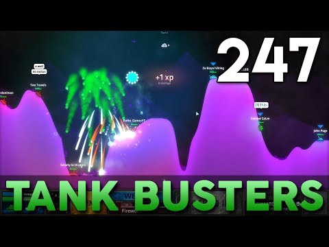[247] Tank Busters (Let's Play ShellShock Live w/ GaLm and Friends)