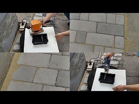 Тротуарная плитка своими руками в домашних условиях без вибростола видео