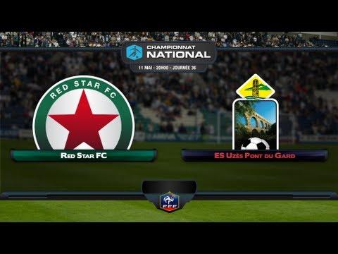 Championnat National - 36ème journée : Red Star - Uzes Pont du Gard