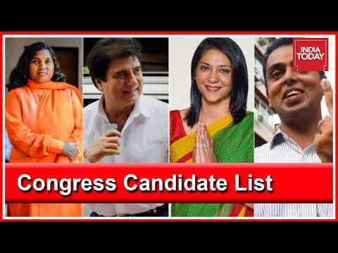 2019 Lok Sabha Polls: Congress Releases 2nd List of Candidates For UP And Maharashtra
