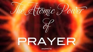 The Atomic Power of Prayer - Ambassador Cindy Trimm