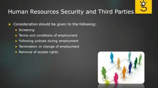 4. Human Resources Security and Third Parties